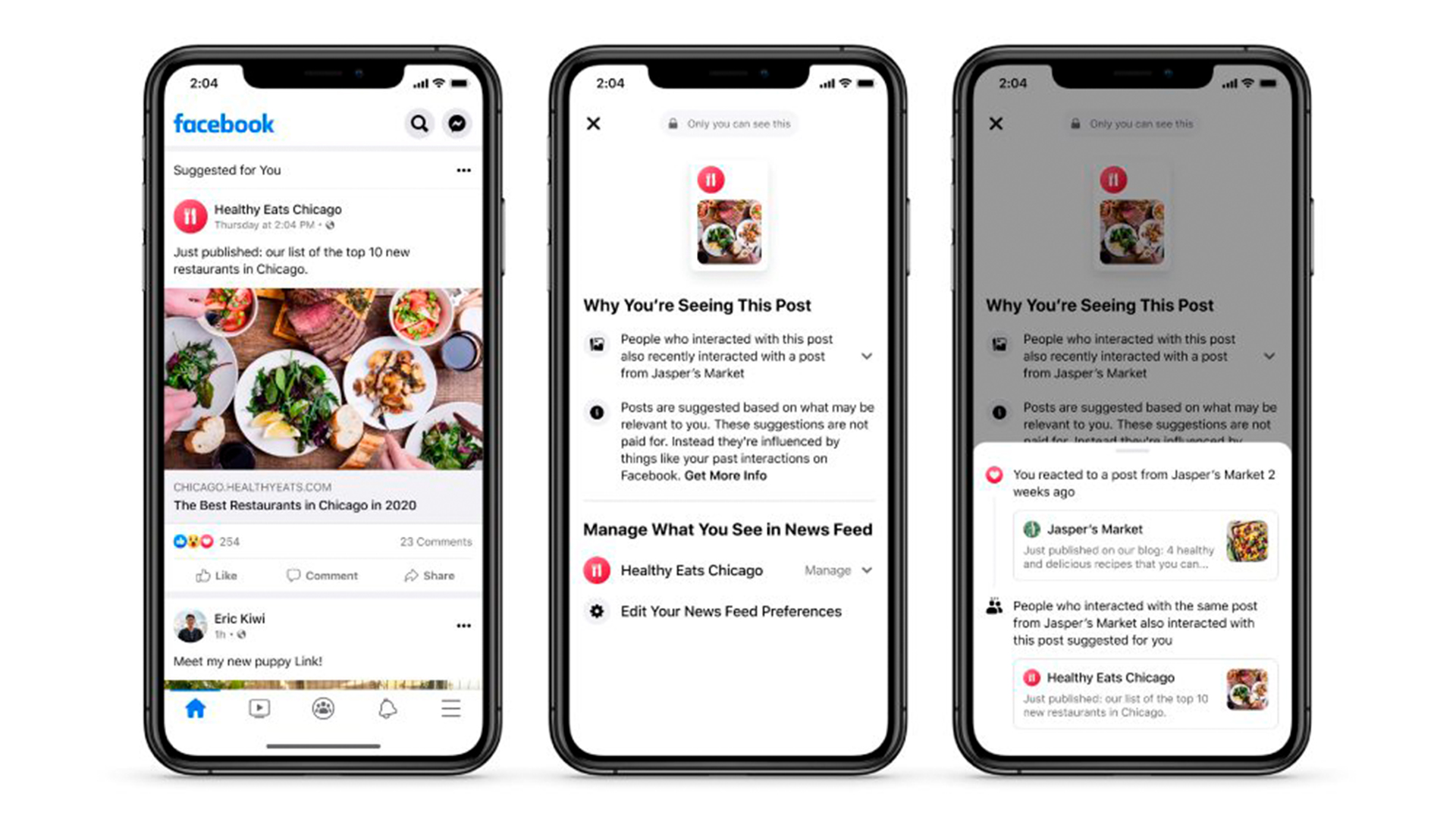 facebook news feed changes 2