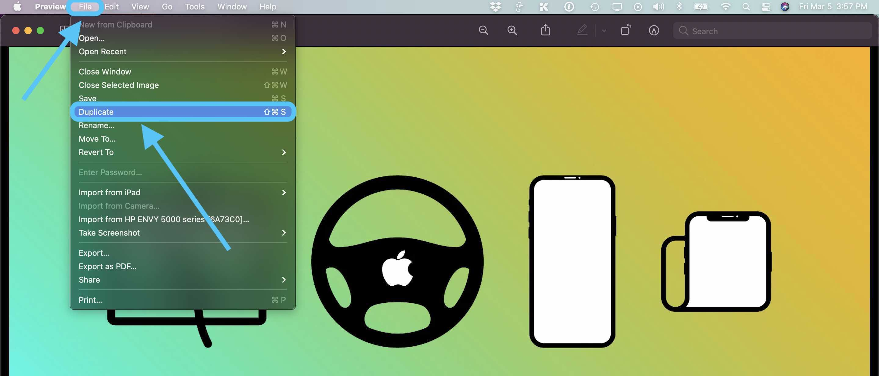 How to convert webp images to jpg and more on Mac walkthrough 1