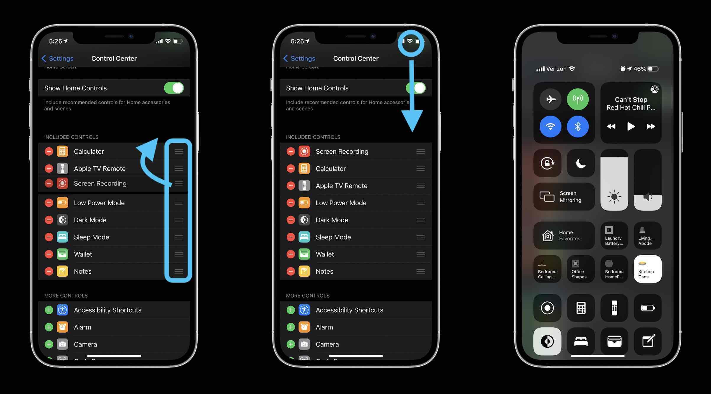 Как настроить Центр управления на iPhone и iPad в пошаговом руководстве 2 для iOS