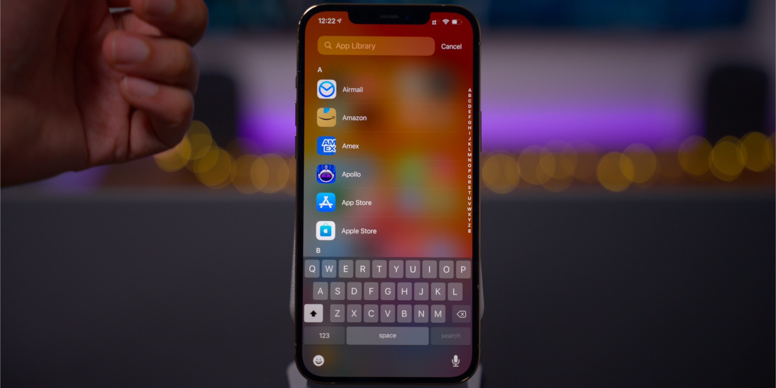 ios 14 rewind review app library list view