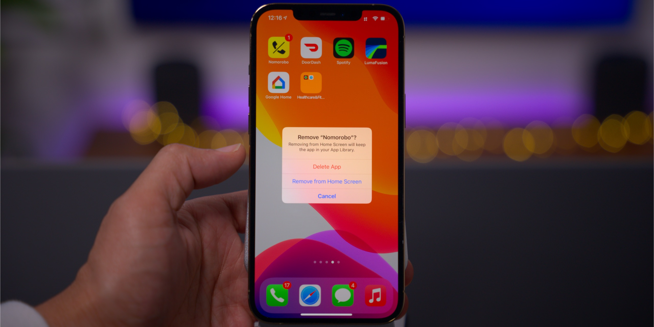 ios 14 rewind review home screen remove apps