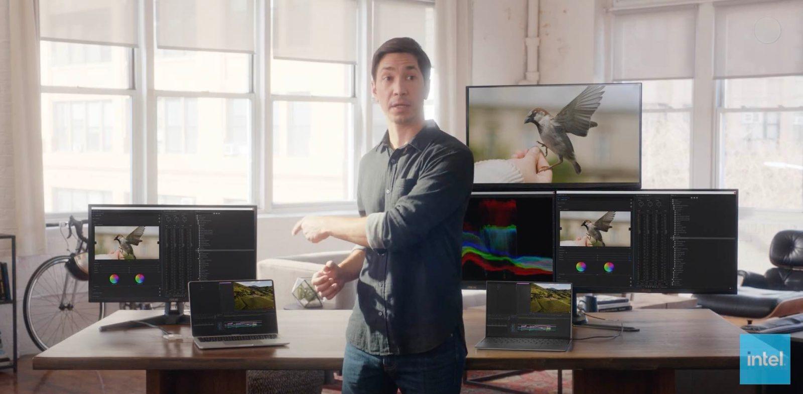 """Intel dùng chính """"ngôi sao quảng cáo"""" của Apple để cà khịa máy Mac với chip M1 - Ảnh 1."""