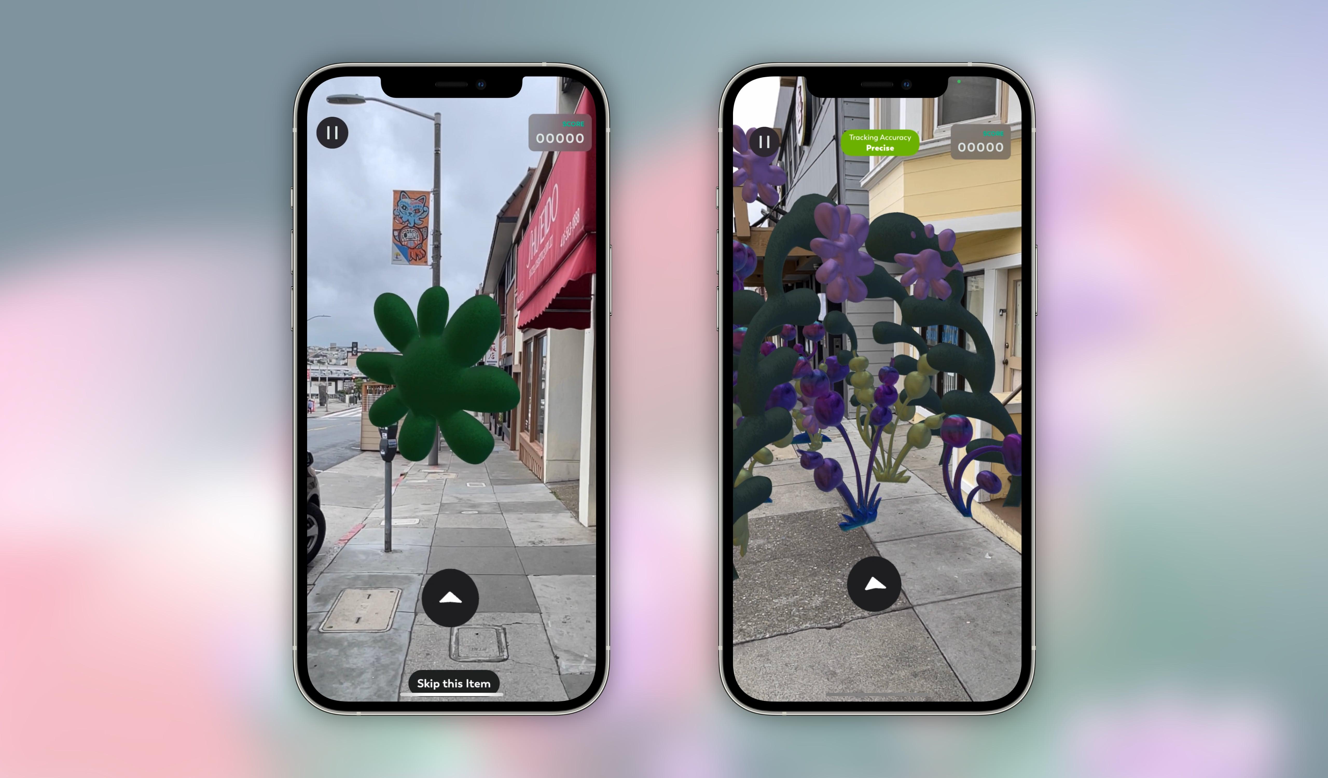 New Nature AR Screenshots