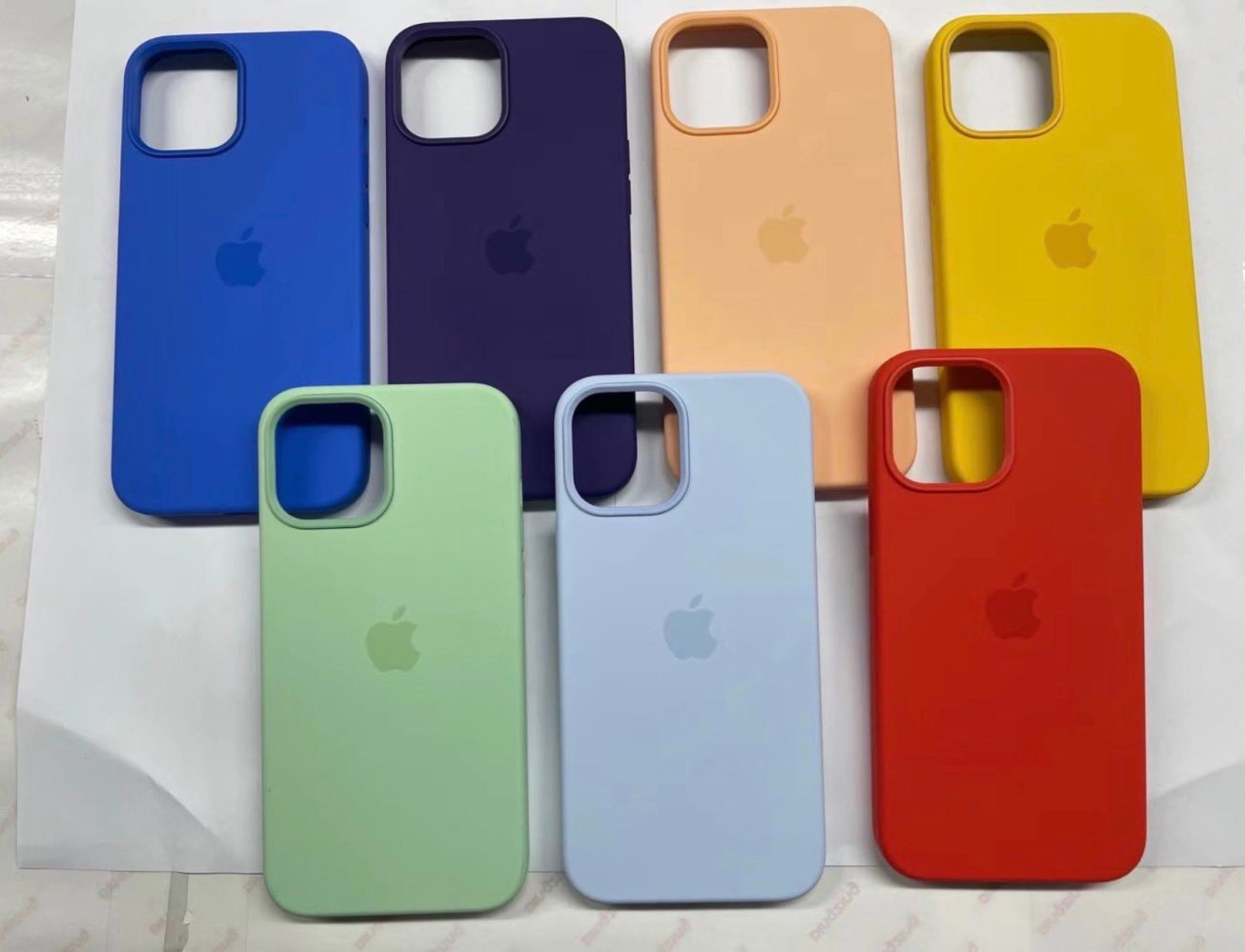 Leaked photos reveal more new colors for Spring iPhone 12 MagSafe cases
