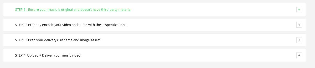 Как разместить музыкальное видео в Apple Music - Контрольный список