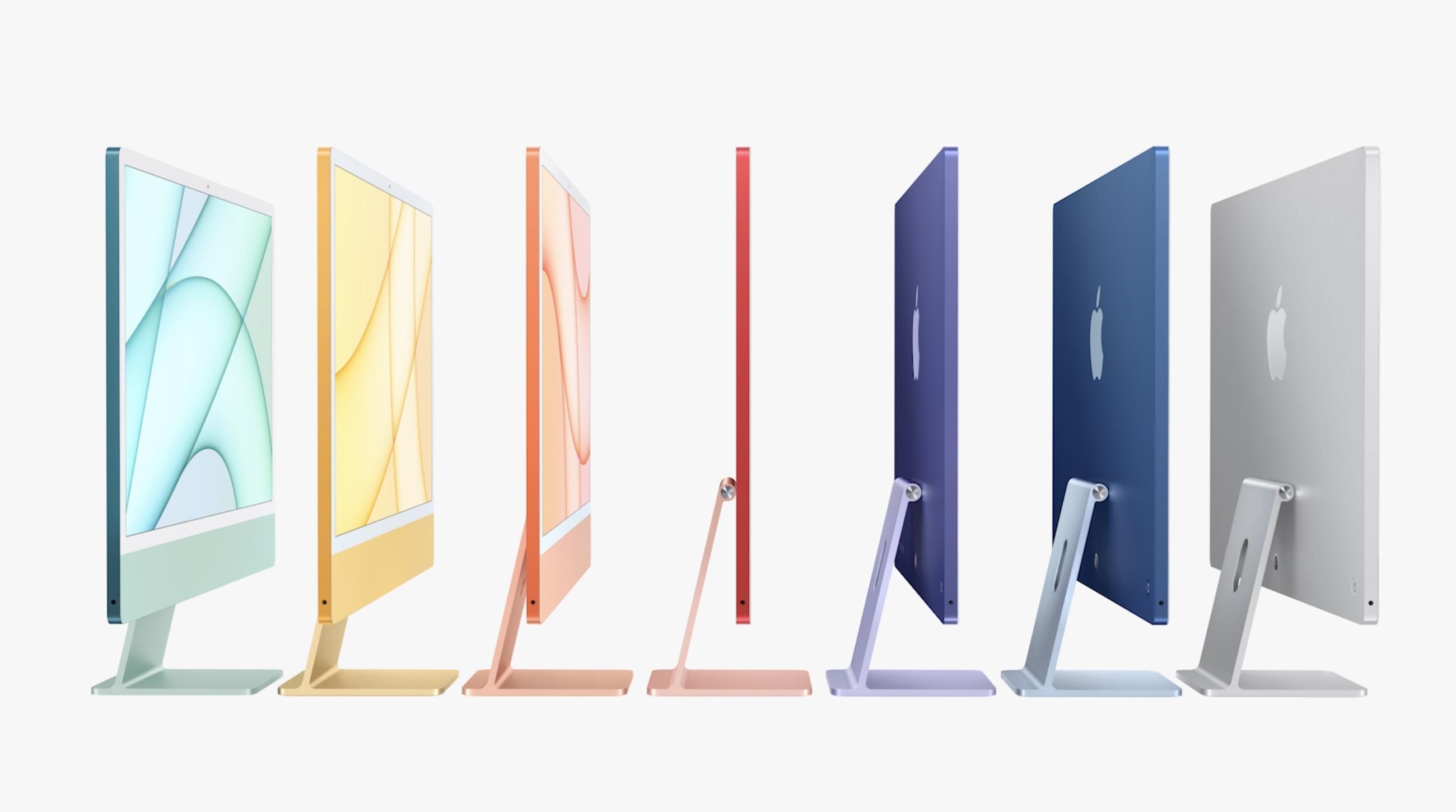 2021 iMac - all colors