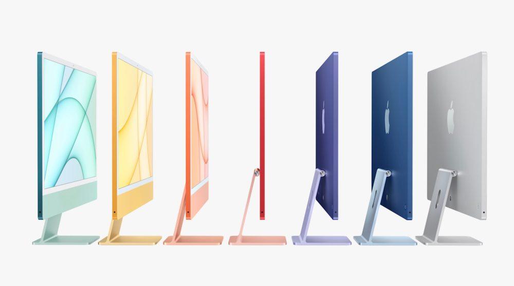 M1 iMac vs Intel iMac - finishes, size, more