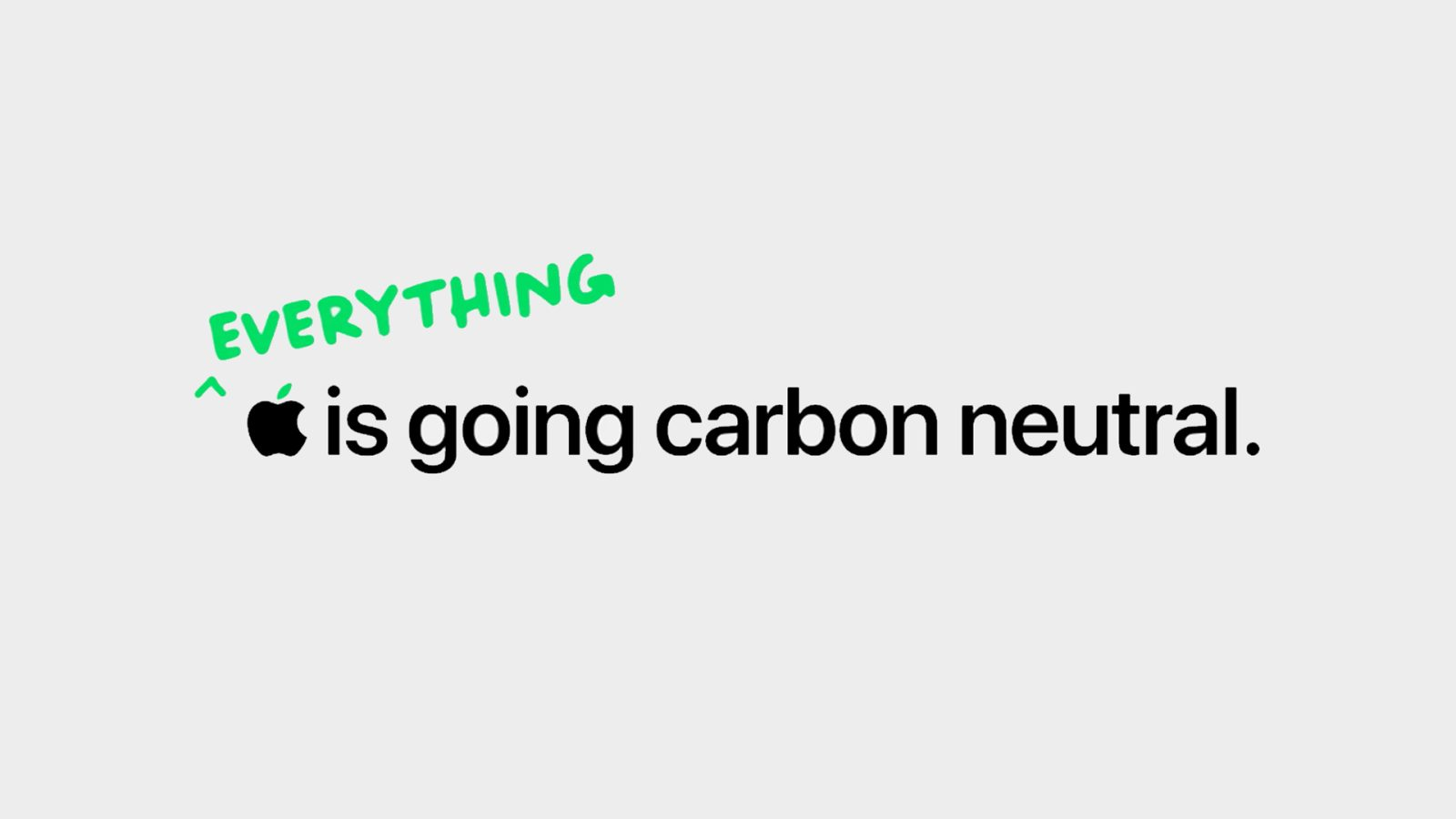 Apple touts its 2030 carbon neutral goal in new Earth Day video