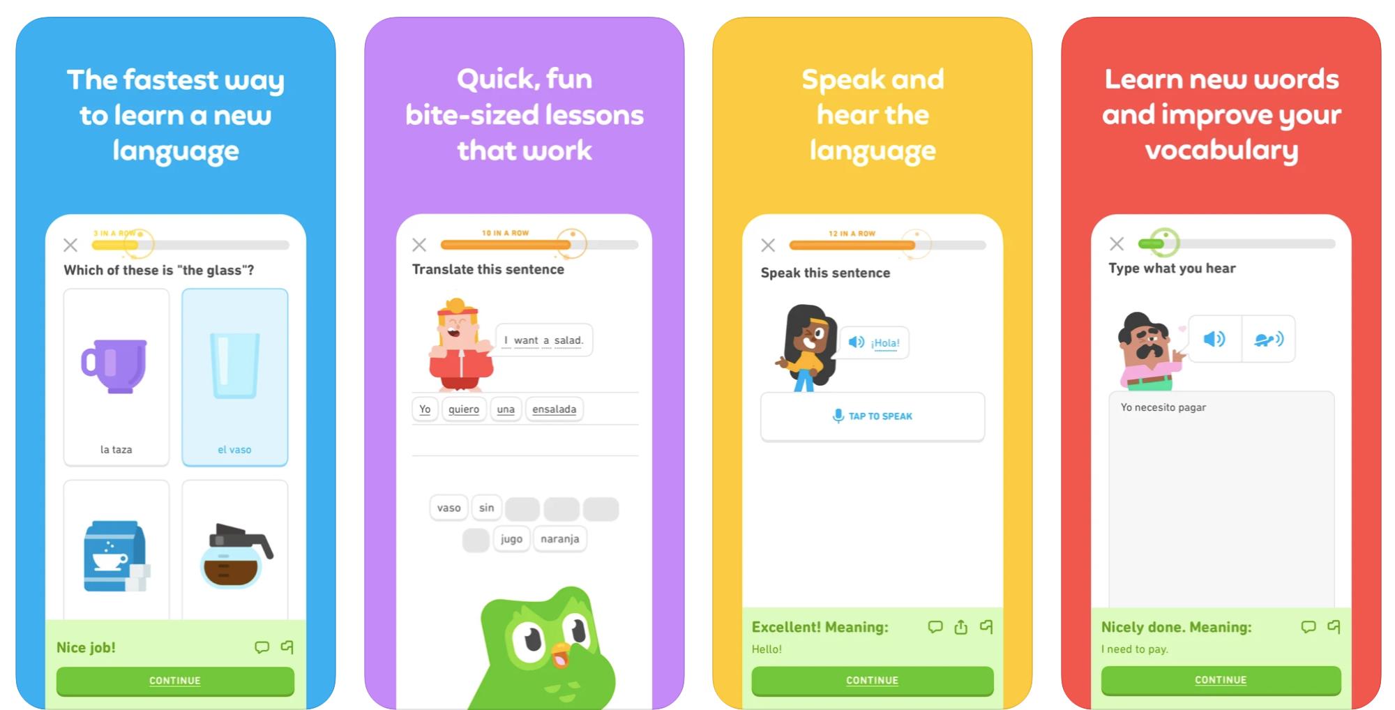 duolingo iphone ipad app