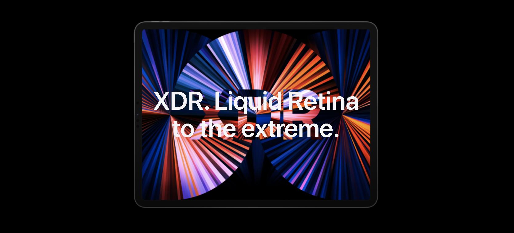 nouvel iPad Pro vs iPad Pro 2020 - Affichage XDR