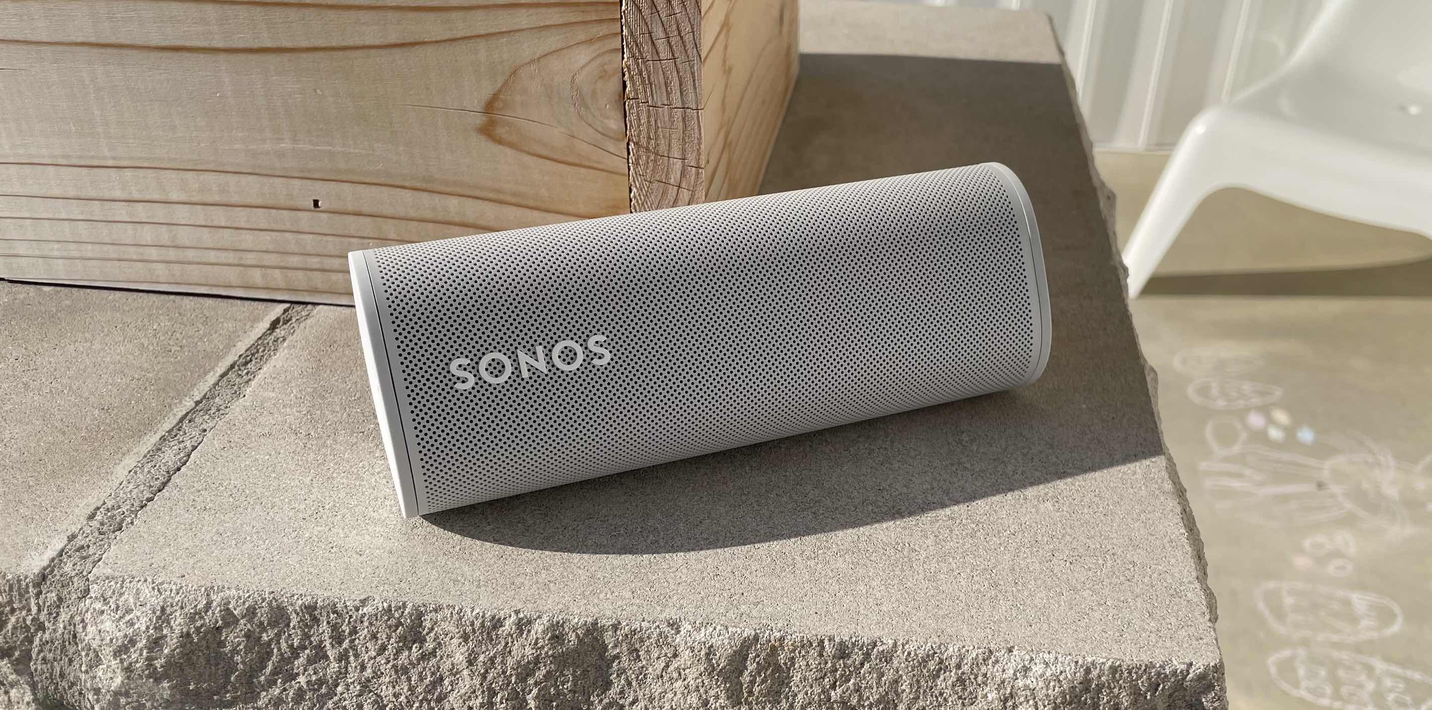 Sonos Roam ultra-portable speaker with AirPlay review – side shot