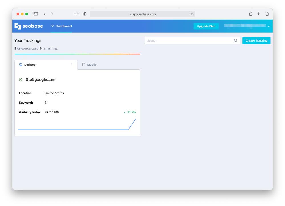 Dashboard Seobase App 2021 05 21 15 26 31