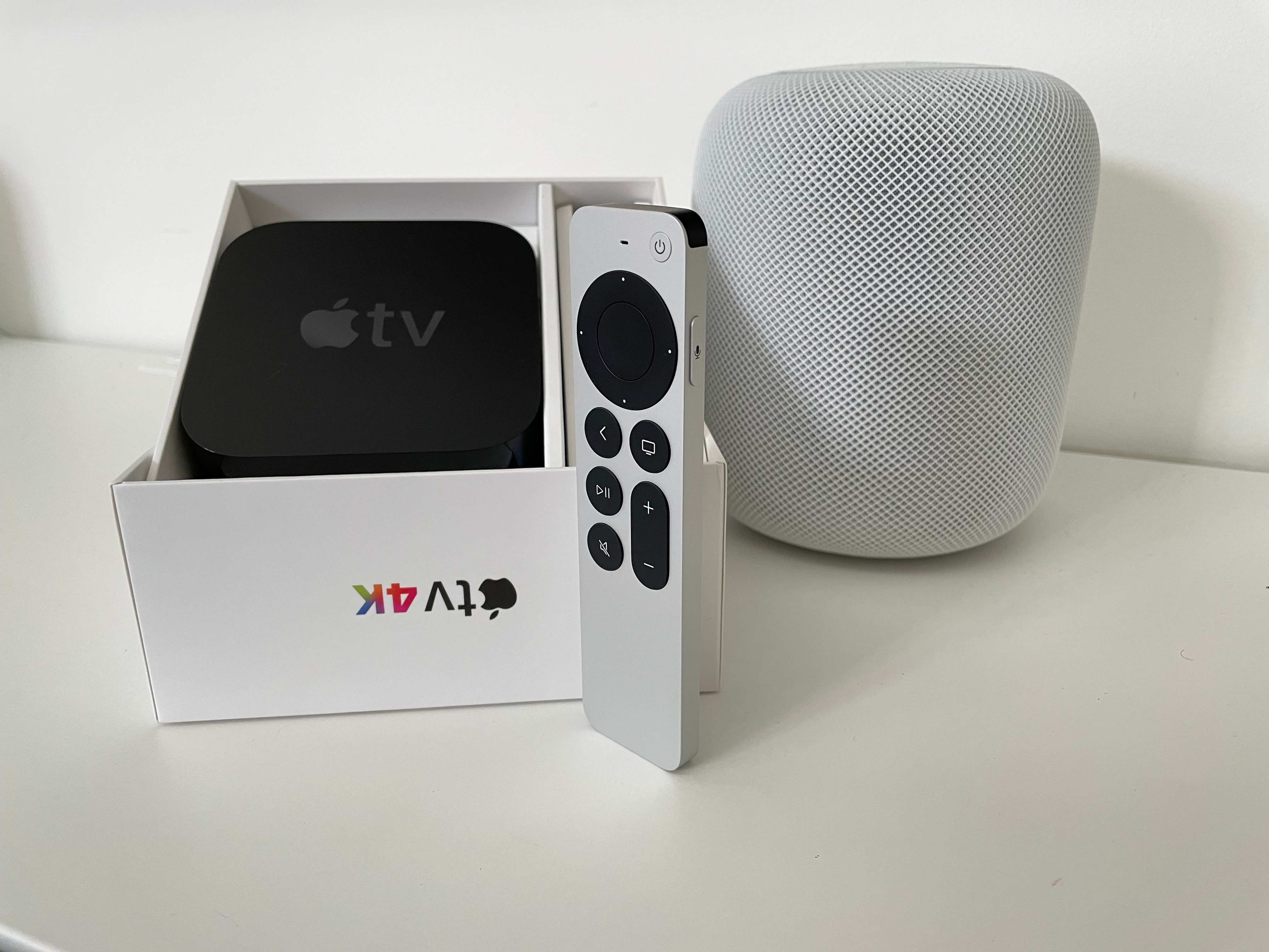 Apple TV 4K new Siri Remote.