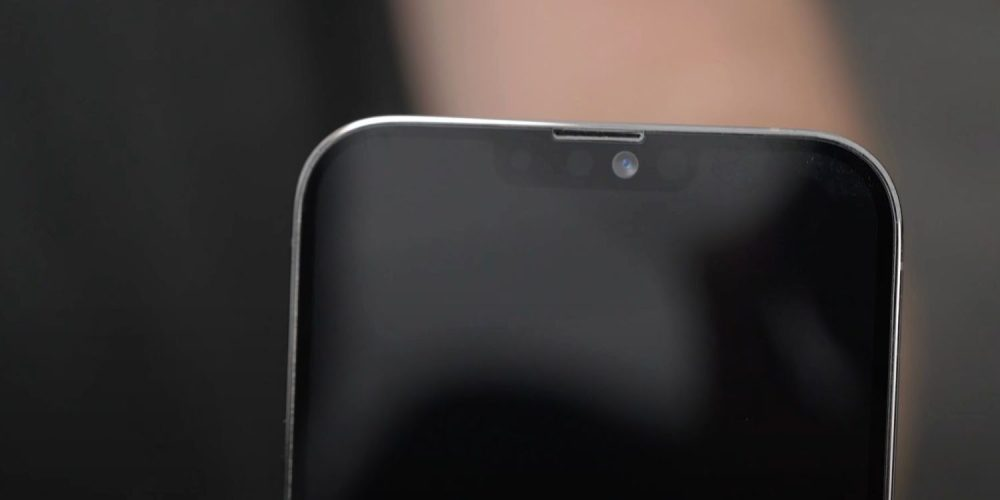 Smaller notch expected in iPhone 13