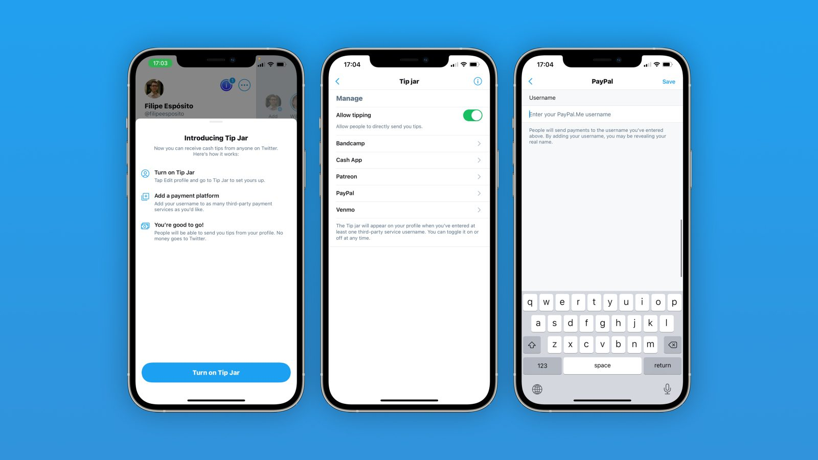 Twitter begins rolling out new ?Tip Jar? feature for paying other users directly