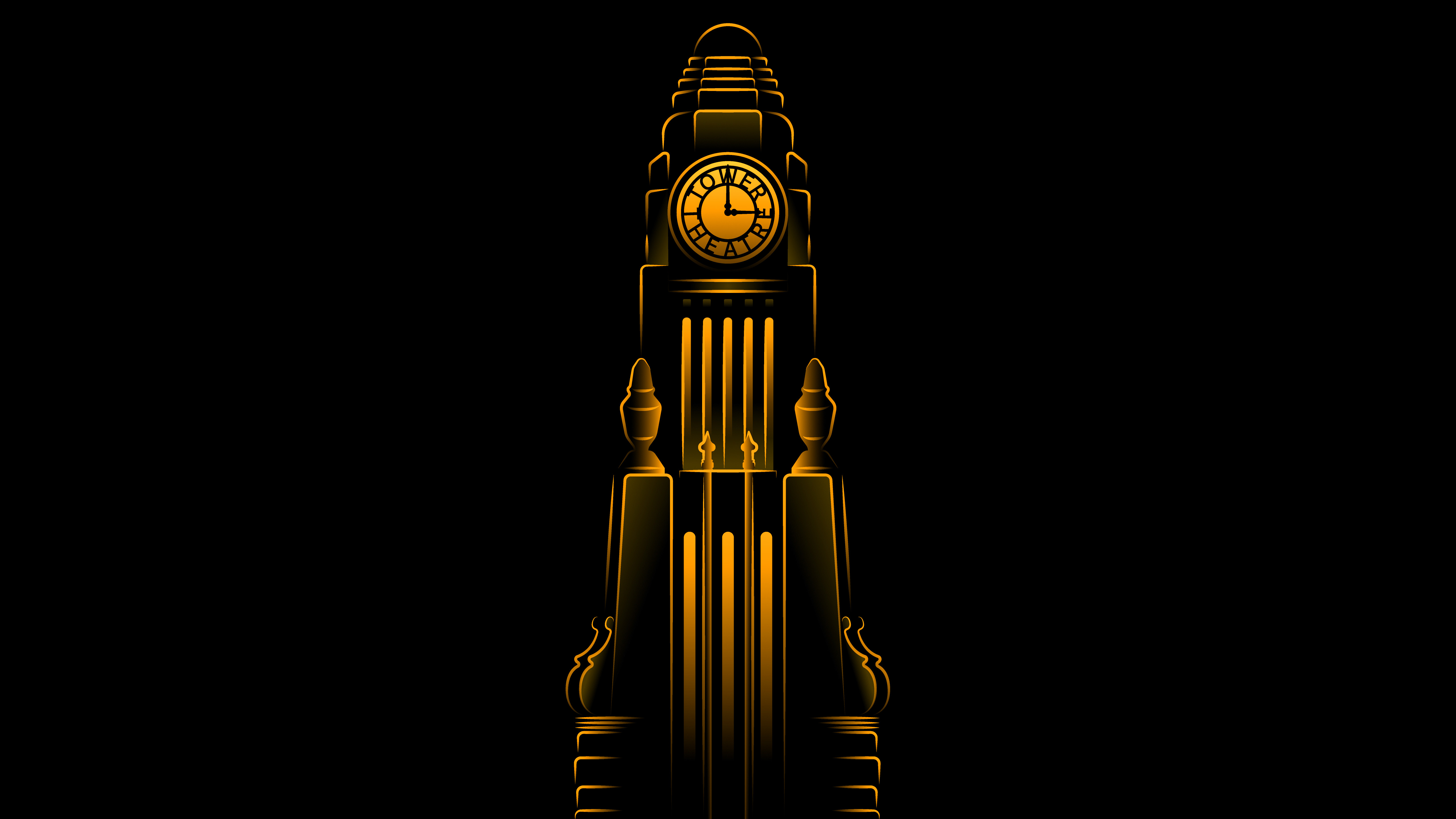 Apple Tower Theatre Clock Tower