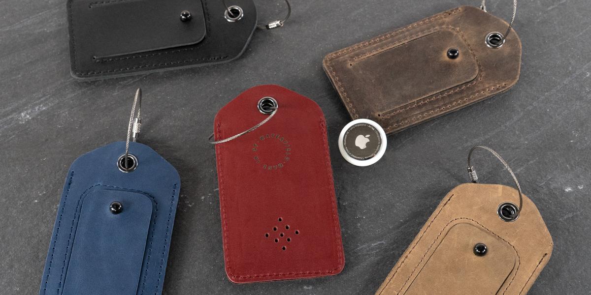 WaterField AirTag porte-clés et étiquette de bagage