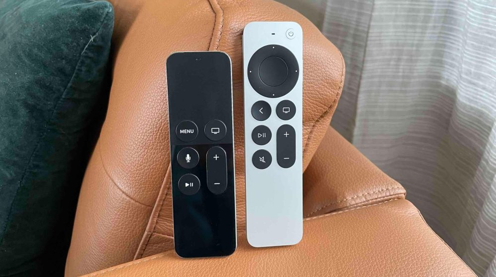 New Apple TV Siri Remote vs old Siri Remote