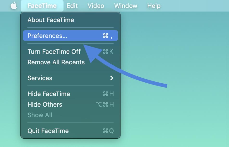 How to turn off Mac phone calls walkthrough 1