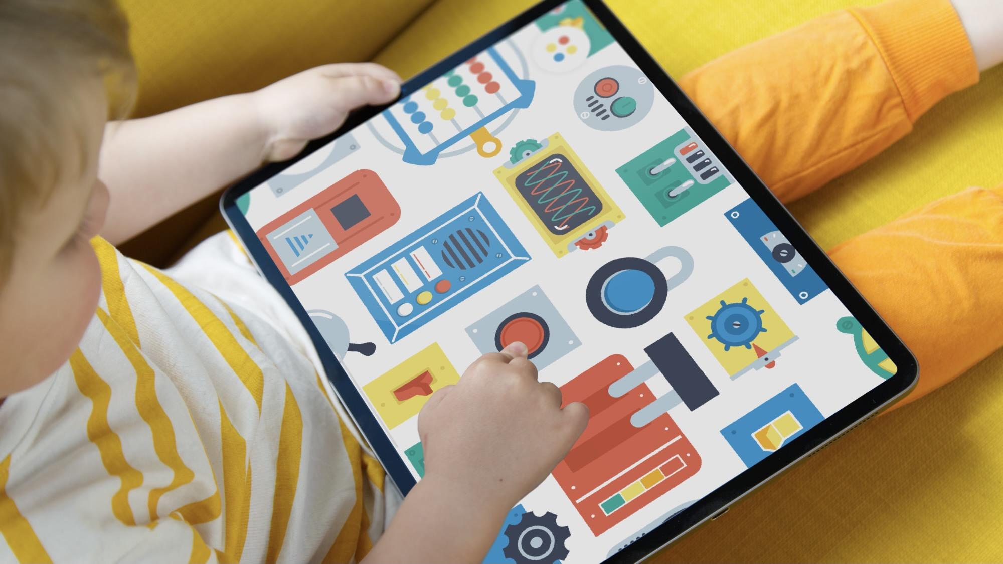 Pok Pok Playroom - Busy board