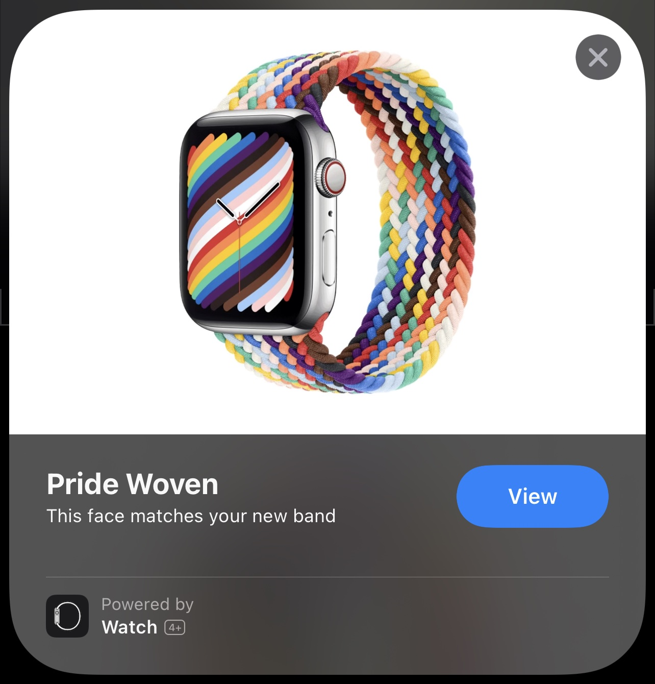 Apple Watch Pride Edition App Clip