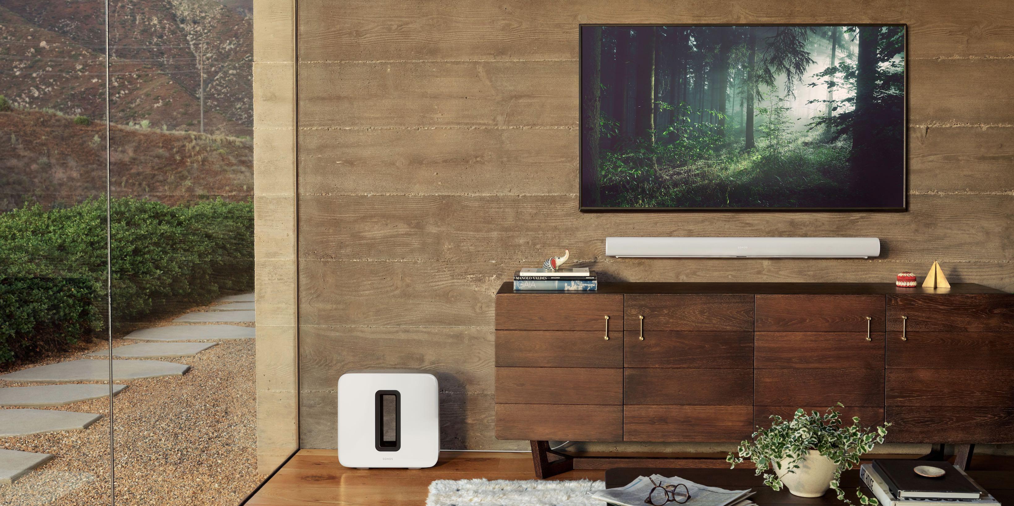 Sonos Arc TV sounder Dolby Atmos AirPlay 2