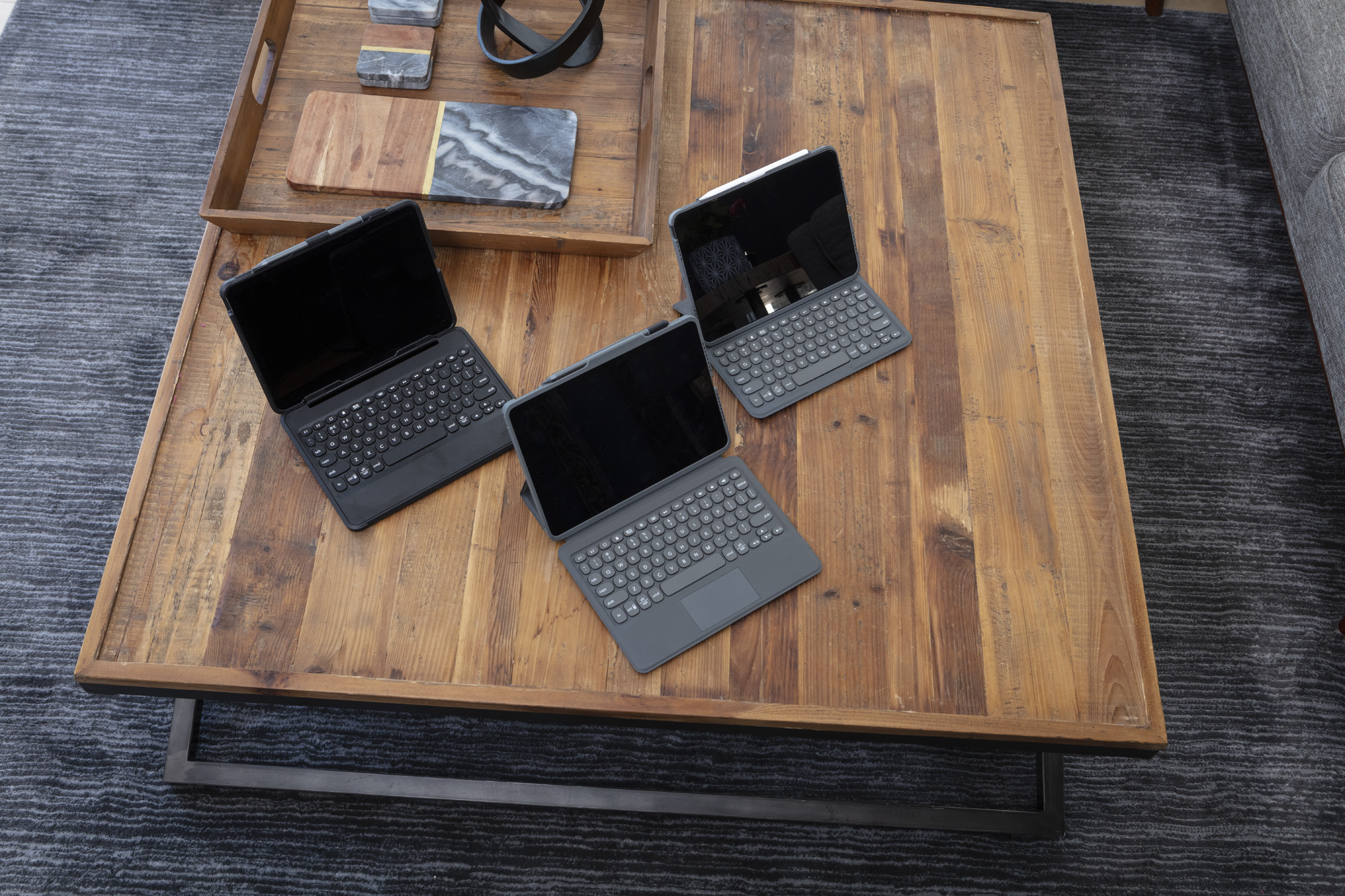 Zagg Pro Keys with Trackpad, Pro Keys, and Rugged Book