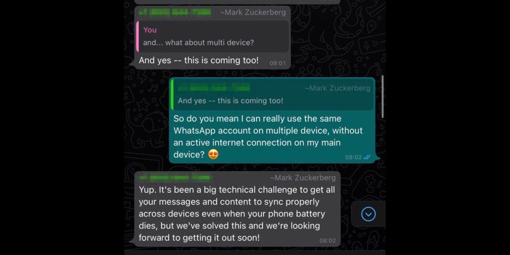 Official hint at WhatsApp iPad app