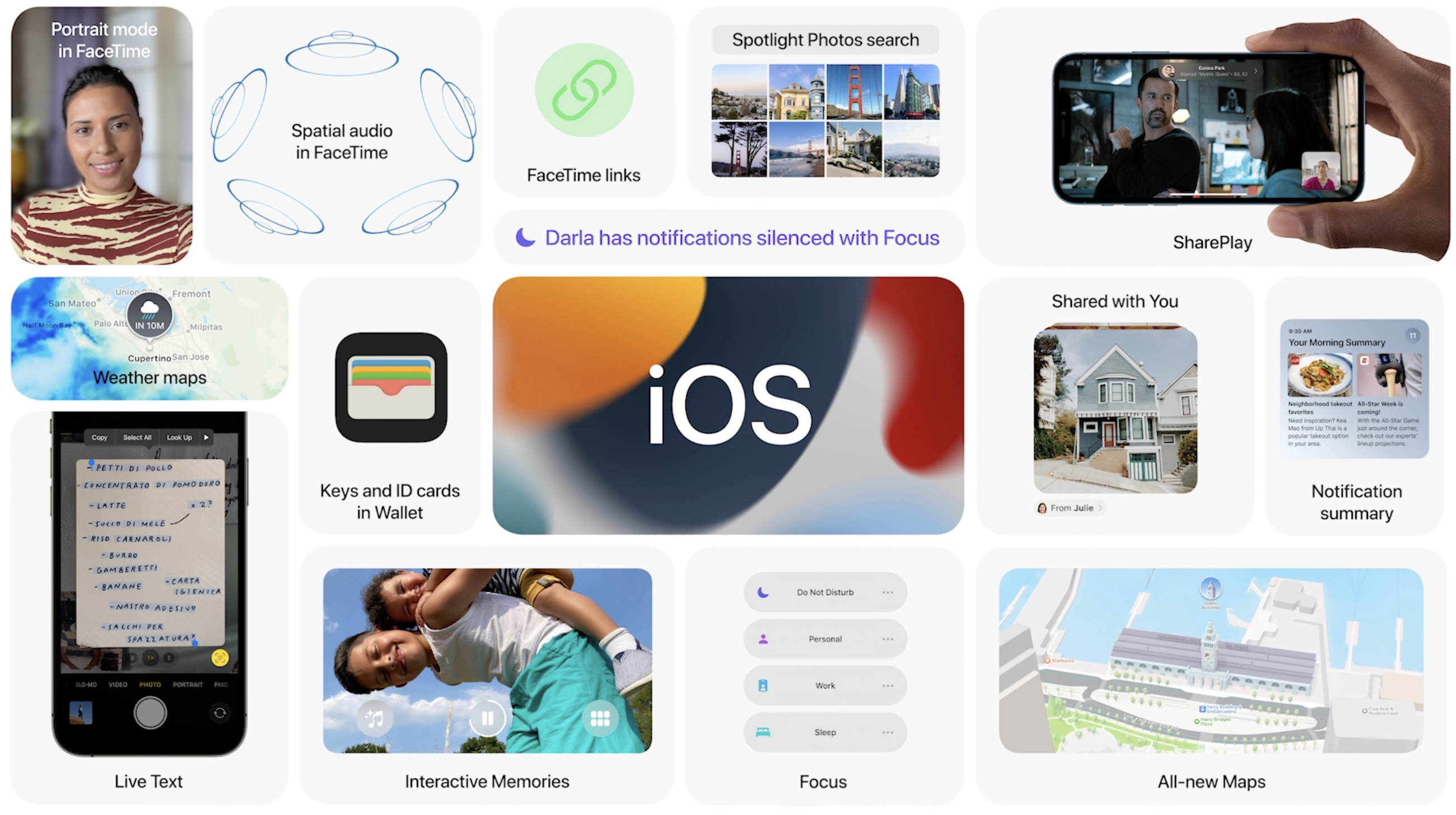 When does iOS 15 come out? Features hero image