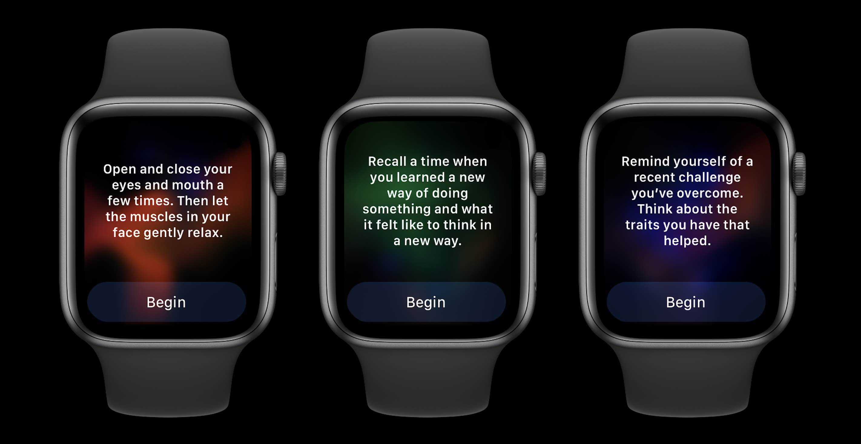 How to use Mindfulness app and Reflect watchOS 8 - walkthrough 3
