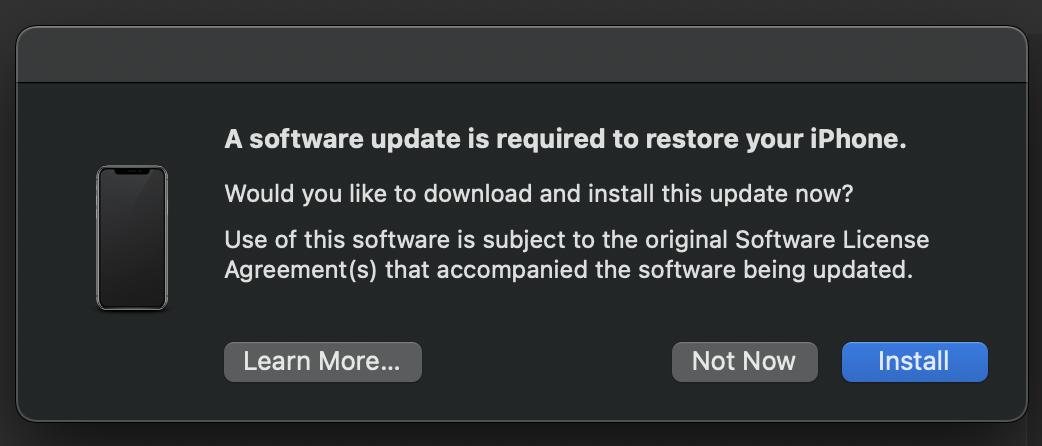 How to downgrade from iOS 15 beta walkthrough 3