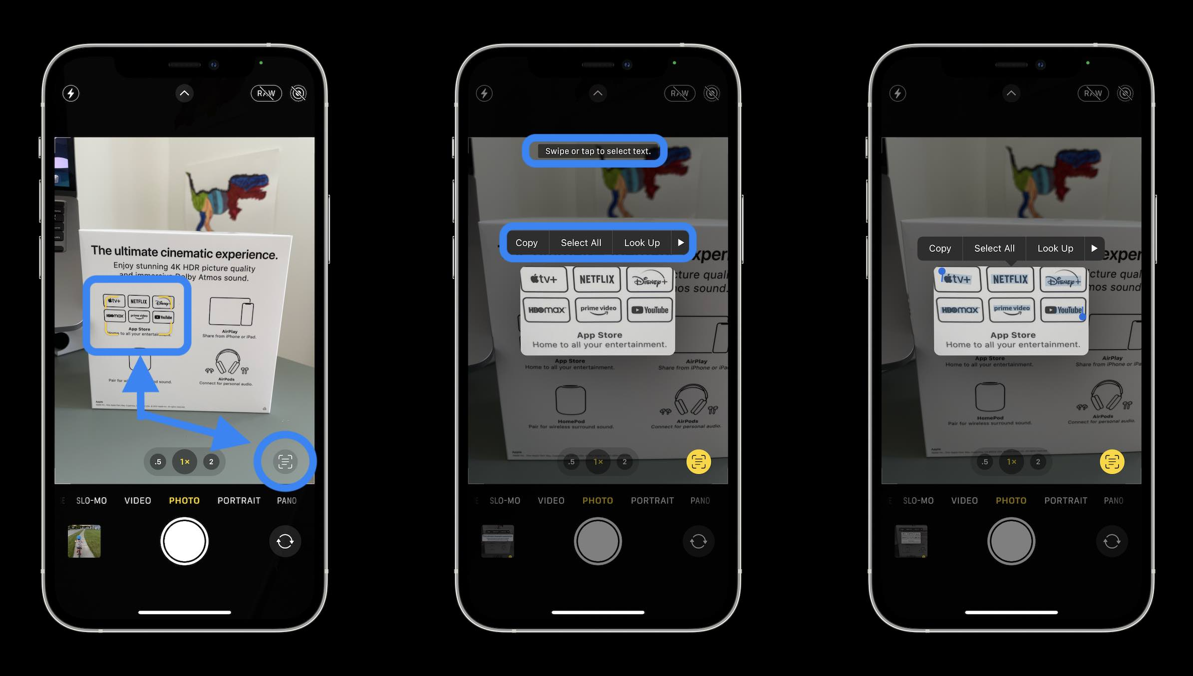 How to use iPhone Live Text OCR in iOS 15 - walkthrough
