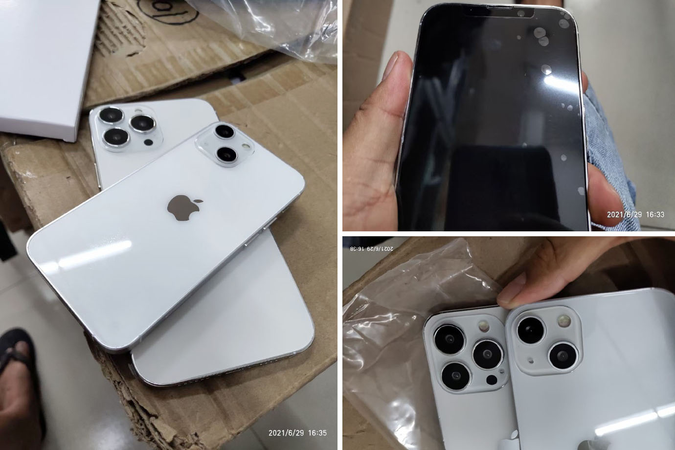 iPhone 13 dummy models show smaller notch, new cameras - 9to5Mac