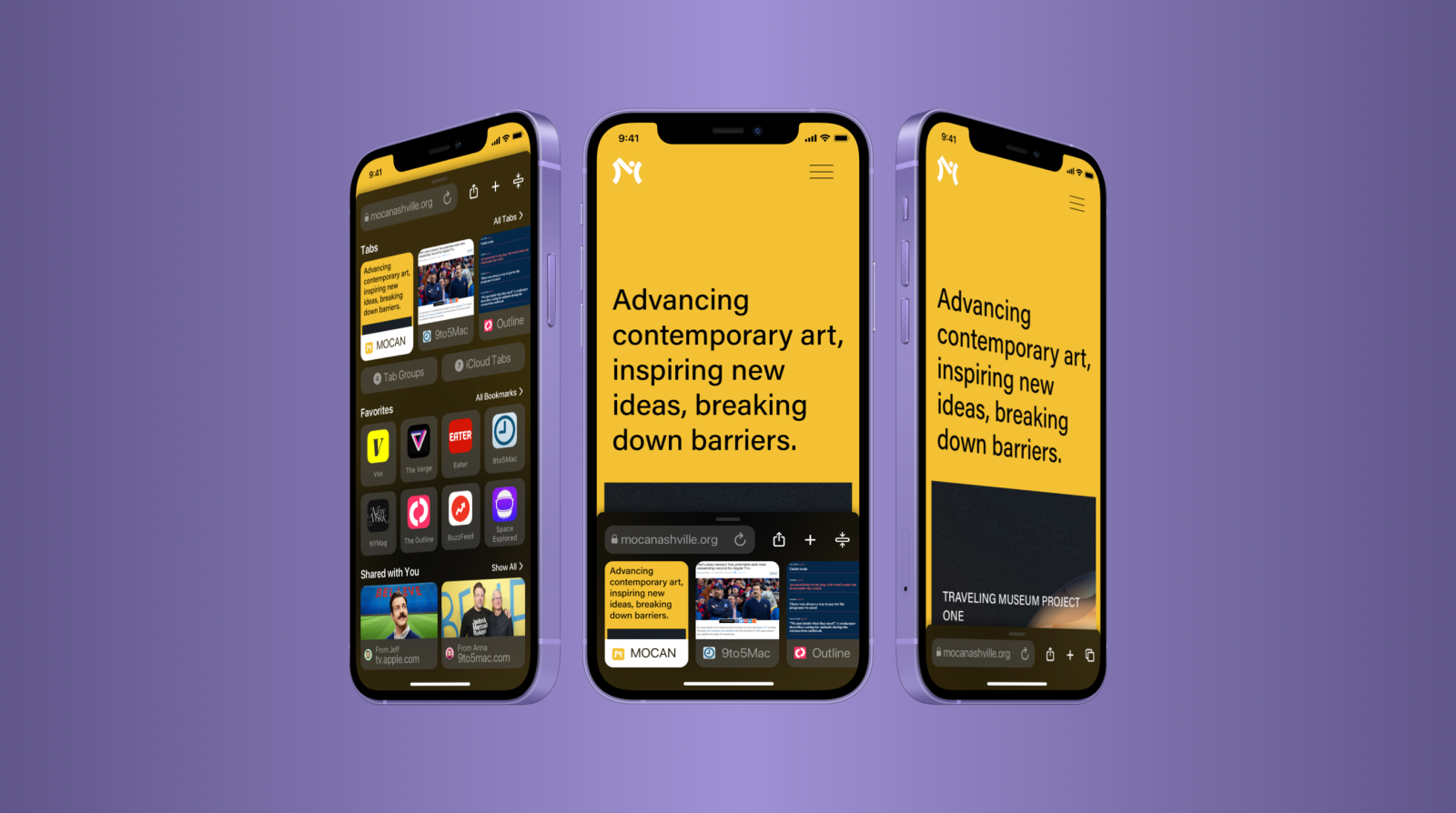 Concept: Rethinking Safari in iOS 15 with the same core design principles and goals