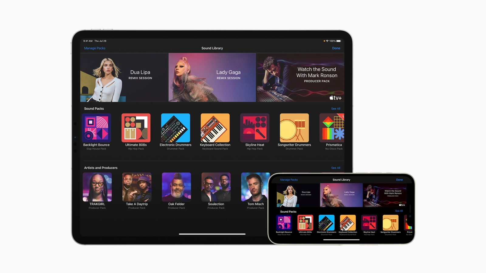 GarageBand for iPhone and iPad updated with new 'Sound Packs' from top artists and producers