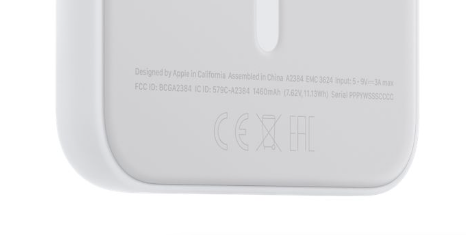 Apple MagSafe Battery Pack Things - Battery Capacity