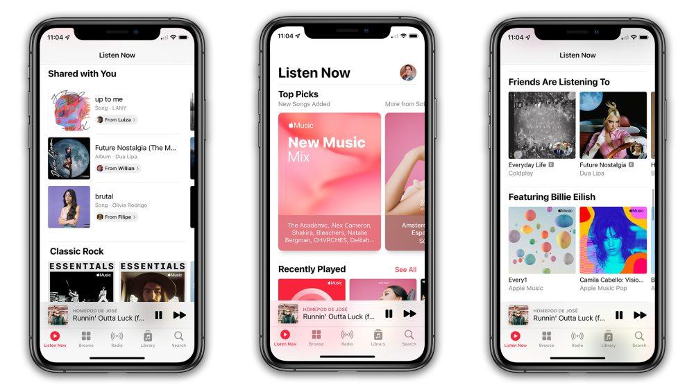 Apple Music iOS 15