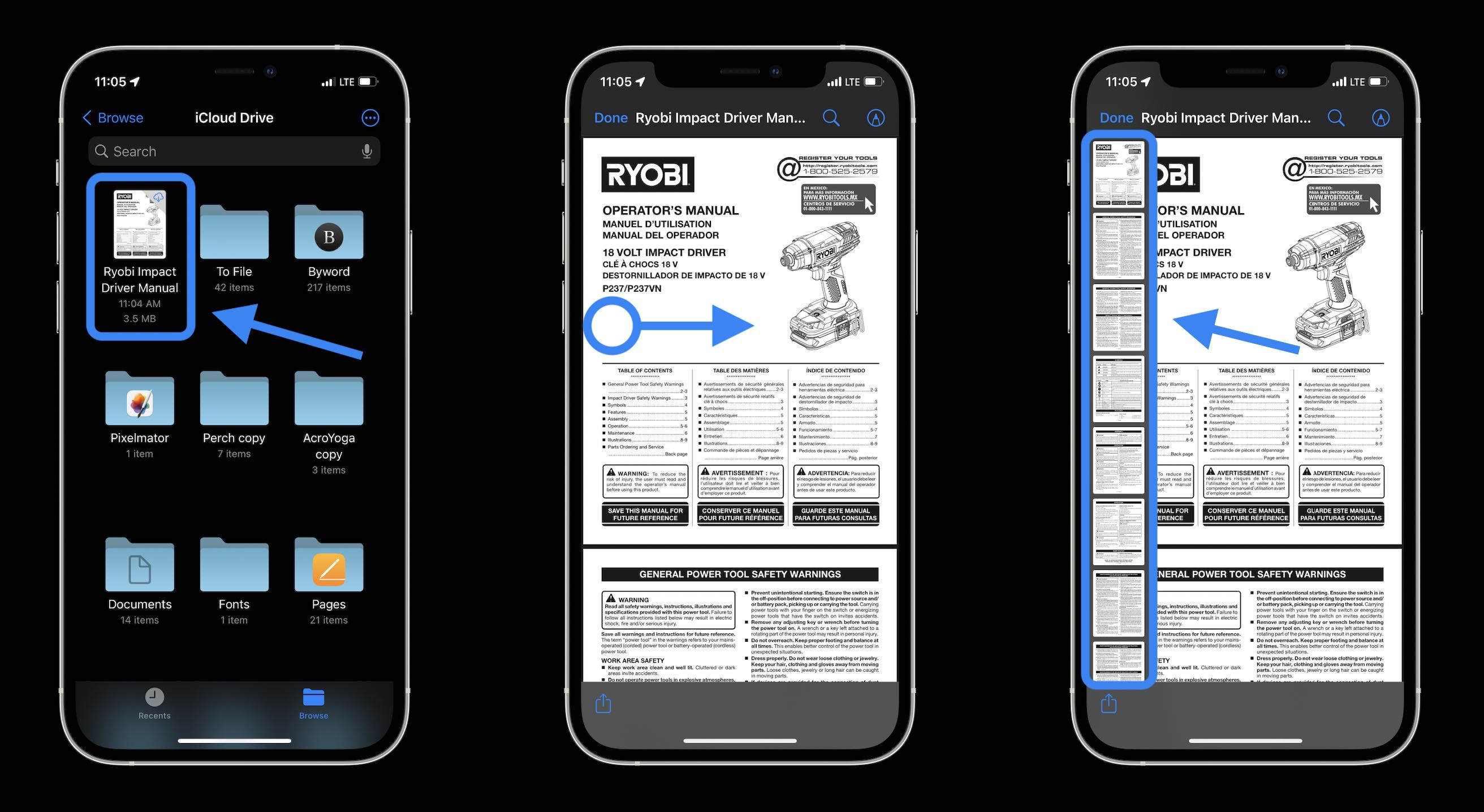How to edit PDFs on iPhone and iPad in iOS 15 - walkthrough 1