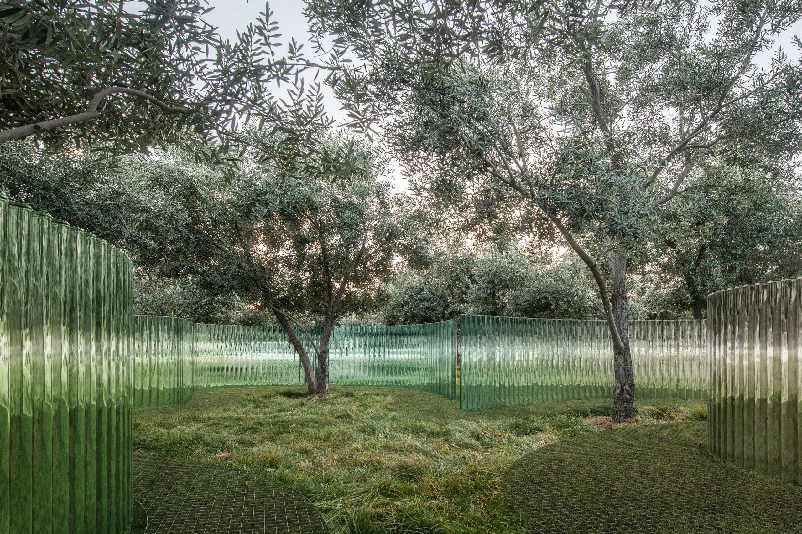 Apple Park Mirage Sculpture