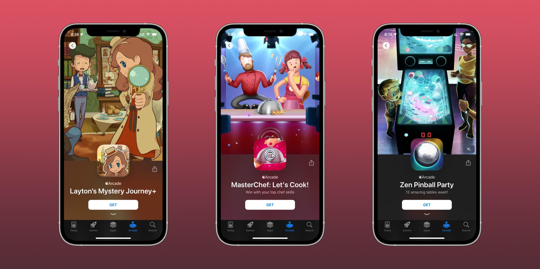 Apple Arcade new games 9/3