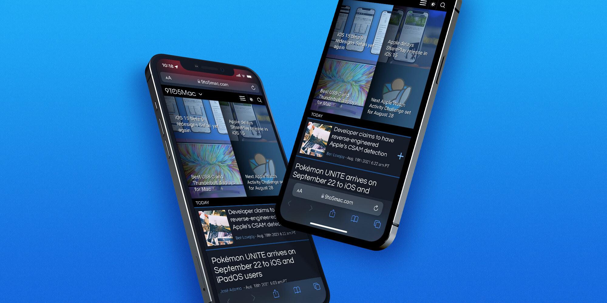 Comment changer l'adresse/la barre de recherche de Safari iOS 15 sur iPhone