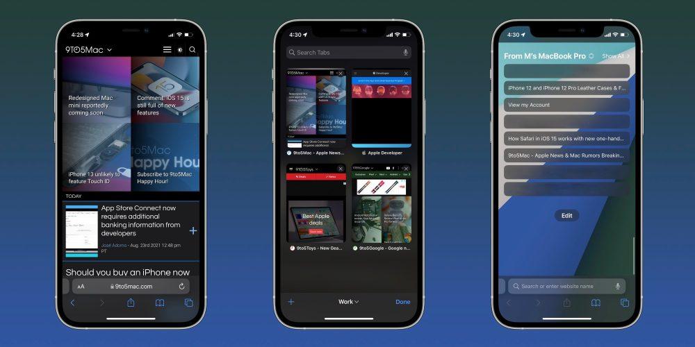 How Safari in iOS 15 works walkthrough