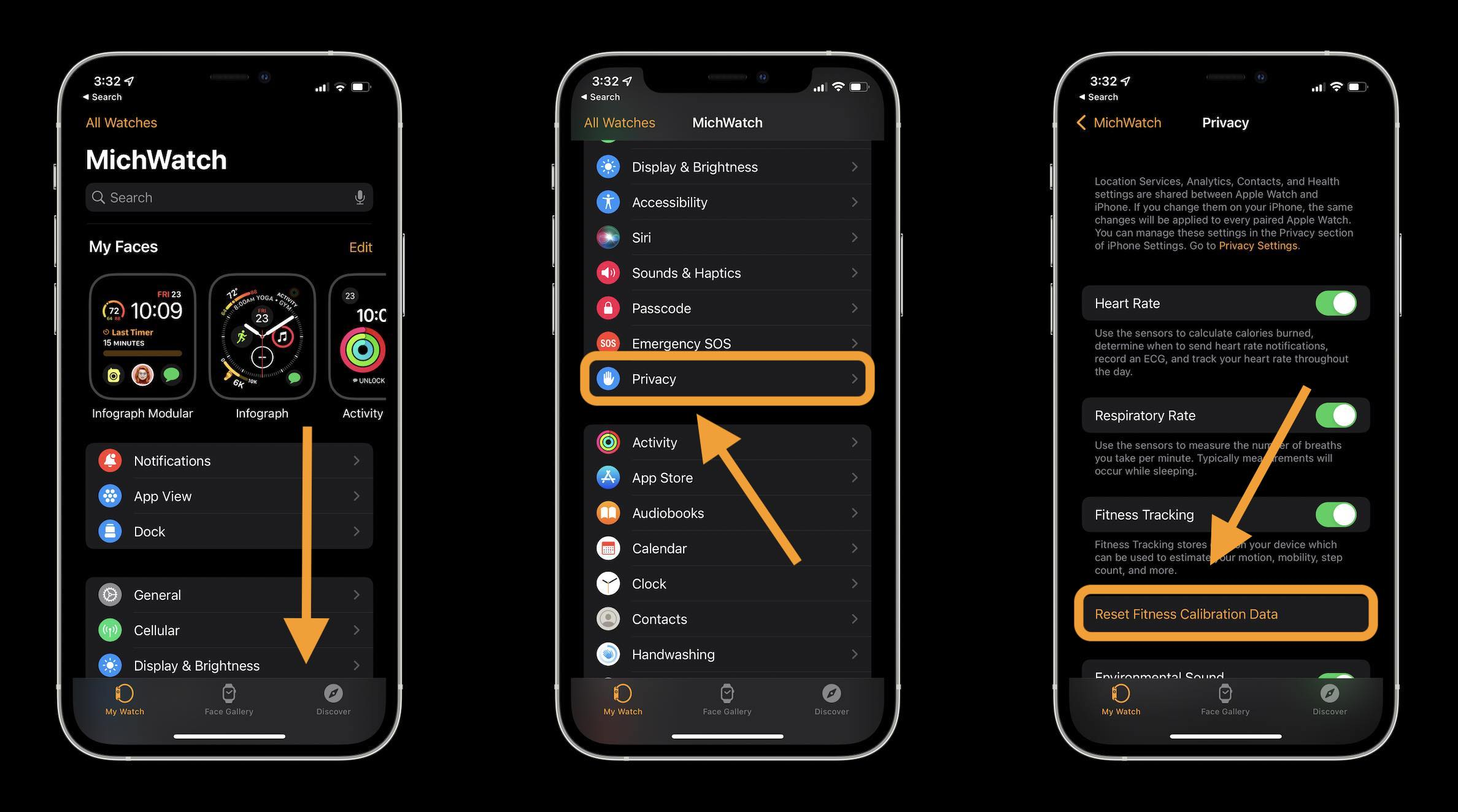 How to fix Apple Watch workout tracking and activity tracking - walkthrough 1