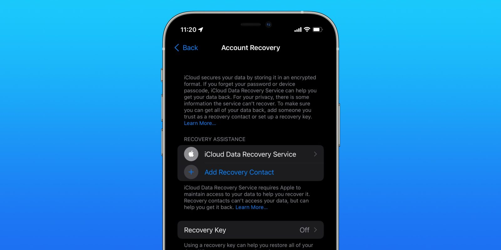 iOS 15 lets you set new iCloud recovery options, here's how