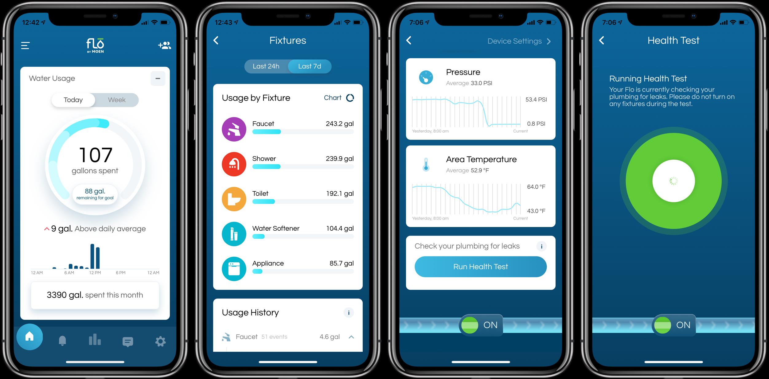 Review Moen Flo Smart Water Shutoff app set up 4