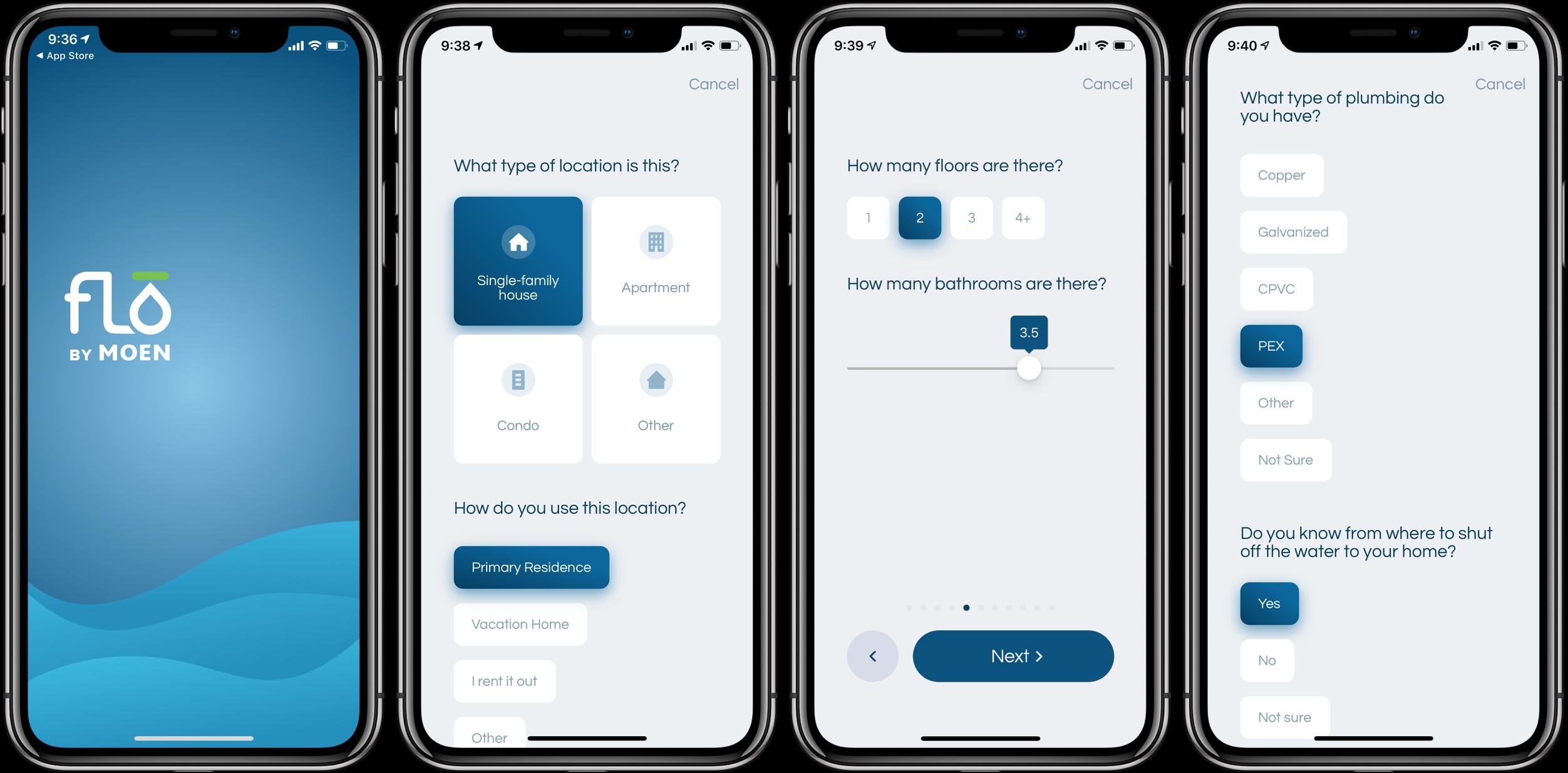 Review Moen Flo Smart Water Shutoff app set up