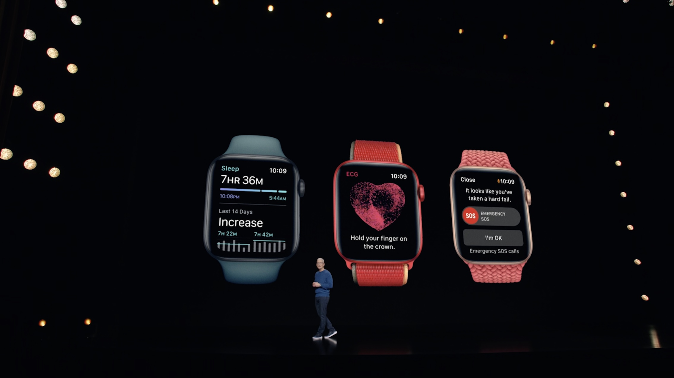 Apple Watch Series 7 comparison - Key features
