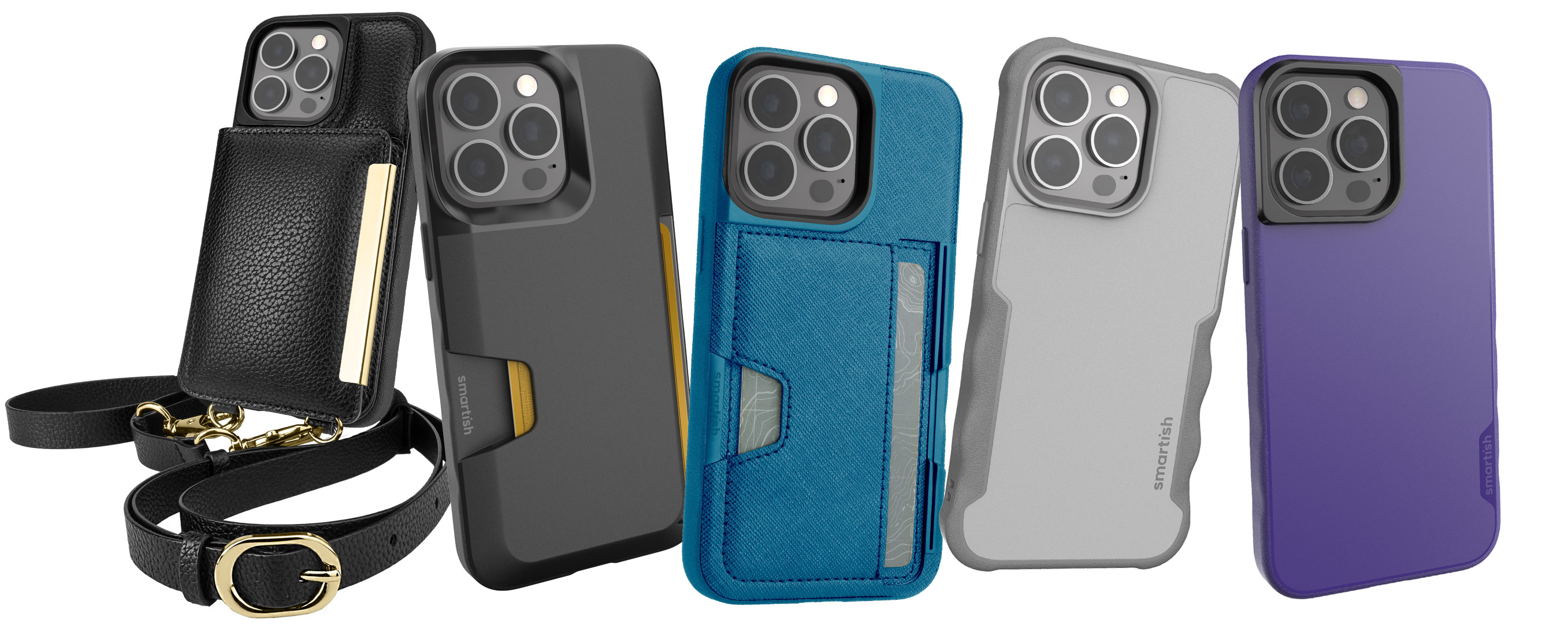Coques Smartish pour iPhone 13