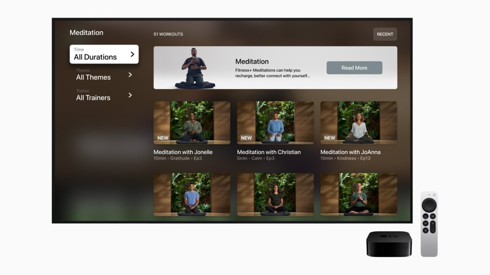 apple fitness+ guided meditation apple tv 9to5mac