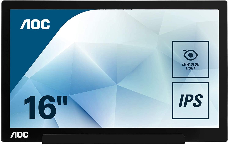 Best portable displays for MacBooks - AOC 15.6-inch USB-C display